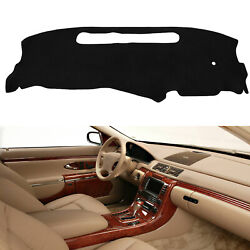 Dash Cover Mat Pad For 1998 1999 2000 2001-2004 Chevy S10 Pick Up Dark Gray Grey