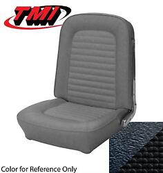 1966 Ford Mustang - Convertible Full Seat Upholstery - Standard - Black Buckets
