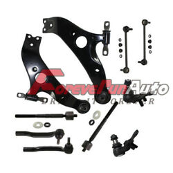 10pc Front Lower Control Arm Set & Suspension Kit 2004 2005-2010 Toyota Sienna