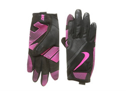 NEW NIKE LUNATIC BLACK PINK RUNNING GLOVES WOMENS L. TRAINING GLOVES FREE SHIP