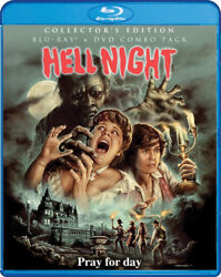 Hell Night [new Blu-ray] Collectorand039s Ed Subtitled Widescreen