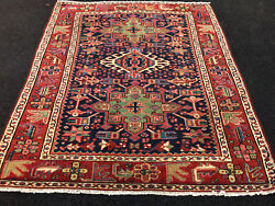 Antique Hand Woven P....n Serapi Rug 3and0396x4and0392 From C 1900