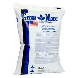 Grow More Cold Water 10-52-10 Soluble Concentrated Plant Fertilizer, 25 Pounds