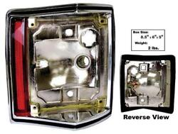 1970-72 El Camino Chevelle Wagon And 71-72 Gmc Sprint Tail Lamp Housing - Rh New
