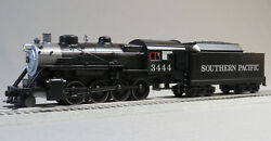 Mth Rail King Sp Steam Engine And Tender Proto 3 O Gauge Train Pac 30-4245-1-e New