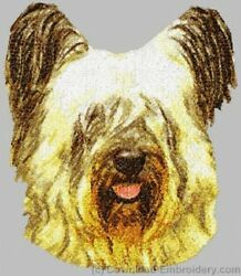 Embroidered Sweatshirt - Skye Terrier DLE2523
