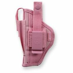 Bulldog Cases Extreme Belt and Clip Ambidextrous Holster Pink - Compact: FSN-3P