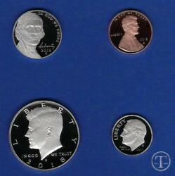 2018 S Proof Lincoln Cent Penny, Nickel, Dime And Kennedy Half Dollar-four Coins
