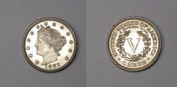 1883 With Cents Liberty Nickel Select Bu++ Invfp-1/15