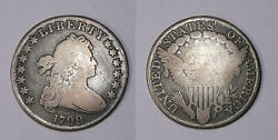 1799 Bust Dollar Great Detail And Problem Free Vg+ Invfp-1-22