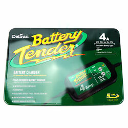 Battery Tender 4 Amp Fully Automatic Charger Car Truck Motorcycle Atv Lawnmower