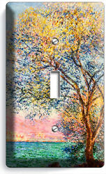 Claude Monet Antibes In The Morning Single Light Switch Wall Plates Room Decor