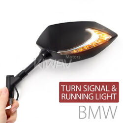 Dual LED mirrors Lucifer Turn signals + Running for BMW M10 1.5P US STOCK ε