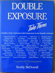 Roddy Mcdowall Double Exposure Take Three First Edition Signed And Inscribed