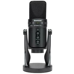 Samson G-Track Pro Studio USB Condenser Mic with Audio Interface #SAGM1UPRO