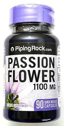 1100mg Passion Flower 90 Capsules 41 Leaf Extract Herbal Supplement Pill