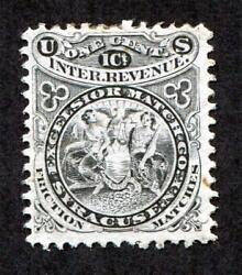 PJ#x27;s quot;Yankee Collectionquot; of Exceptional Match and Medicine Stamps RO82c