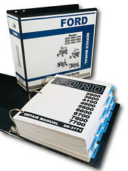 Ford Tractor 2600 3600 4100 4600 5600 Service Manual Repair Shop Technical Book
