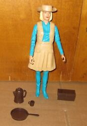 Vintage Marx Best Of The West Jane West Figure With Accessories
