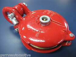 Warn 15640 Snatch Block Pulley 24000lb 5 Inch Cable Winch 6 Ton 3/8 Wire Rope