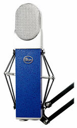 Blue Blueberry Condenser Studio Recording Microphone Mic w Shockmount+Case