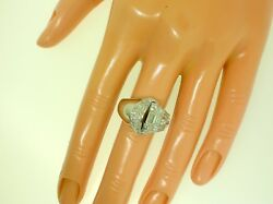 Vintage 18k Ring With 1.2 Ctw Diamonds - Size 5 3/4 Us - 10 Grams - Best Offer