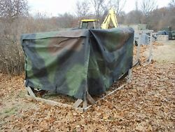 Military Surplus M1101 1102 Cargo Trailer Cover Camo Truck Us Army