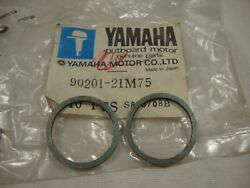 Genuine Yamaha 90201-21m75 Plate Washer Connecting Rod Qty.2 115 200 Hp 1984-92