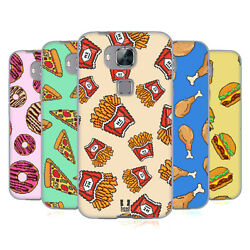 HEAD CASE DESIGNS PIXEL FOOD SOFT GEL CASE FOR HUAWEI PHONES 2