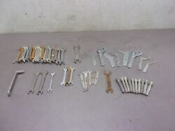 Lot Of 49 Assorted Wrenches And Tools For Vintage Japanese Motorcycles