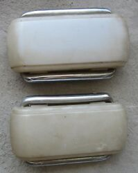 1959 Rover P4 90 Rear Interior Courtesy Reading Lamp Light Housing And Lens 2 Orig