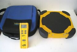 Fieldpiece SRS2 Wireless Refrigerant Scale w Case and Remote