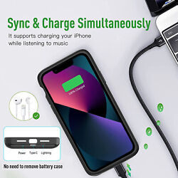 Genuine 4200mah Backup Pack Battery Charger Power Case For Iphone 5 5s 5c And Se