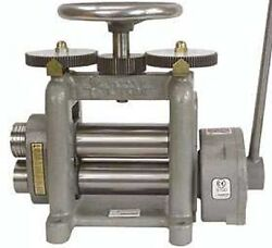New Durston Goldproandreg Drm-f130 Hand Powered Roll / Rolling Mill For Sheet Metal