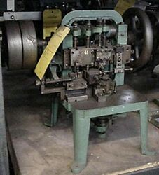 Nickerson Type Cable Link Making Machine - Tooled For Jump Rings