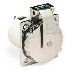 Marinco Afi 303ssel-b 30 Amp/125v Cast 316 Stainless Steel Power Inlet