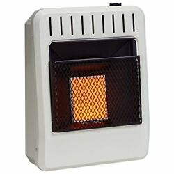 Dual Fuel Vent Free Infrared Heater w Thermostat Control - Greenhouse Heater