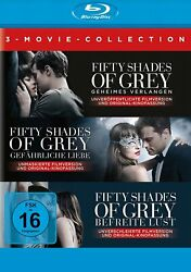Fifty Shades Of Grey 1+2+3 - 3-movie Collection 3-blu-ray-neu