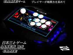 Fighting Stick Arcade Square Sanwa Joystick 6 Buttons Street Fighter Game Pc Usb