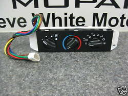 99-04 Jeep Wrangler TJ Heater AC Control Unit Replacement Mopar Genuine Oem RHD