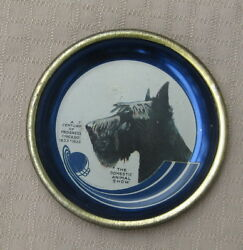 1933 Century of Progress Scottish Terrier Animal Show Tin Tray