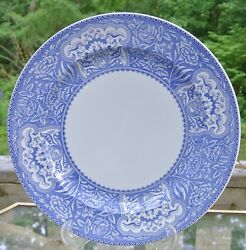 The Spode Blue Room Collection Floral Platter, 12 Willow Flow Blue Wall Plate