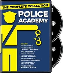 Police Academy The Complete Collection [new Dvd] Boxed Set