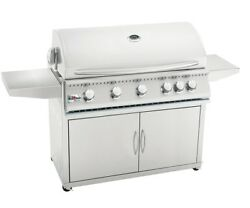 Summerset Sizzler 40 Inch Propane Grill On Cart W/rotisserie