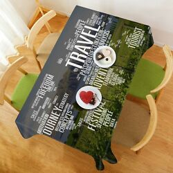 3d Meadow Letter 29 Tablecloth Table Cover Cloth Birthday Party Event Aj Lemon