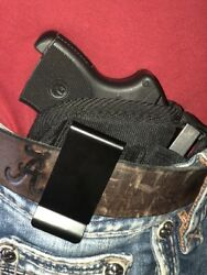 IWB Waistband Gun holster With Extra Magazine Pouch For Kel-Tec P-32P-3AT