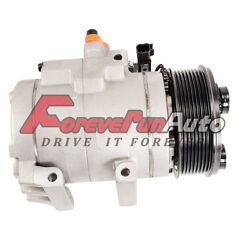 Ac Compressor For Co 10905c 7c3z19703aa 2006-14 F-150 250 350 450 550