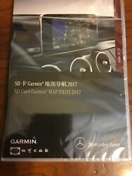 New In Box Oem Mercedes Benz Map Pilot 2017 Chinese Sd Card Garmin