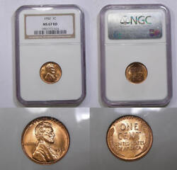 1952 Cent Ngc Ms67 Red Price Guide 2150 Inv335-b1
