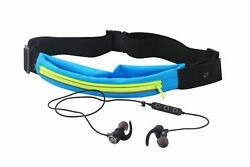 Bolan Bluetooth Earbud set -Plus- LED Light Up Exercise Runners Belt with Pocket $18.87